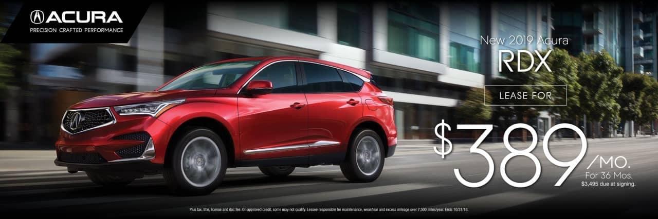 2019 Acura RDX lease
