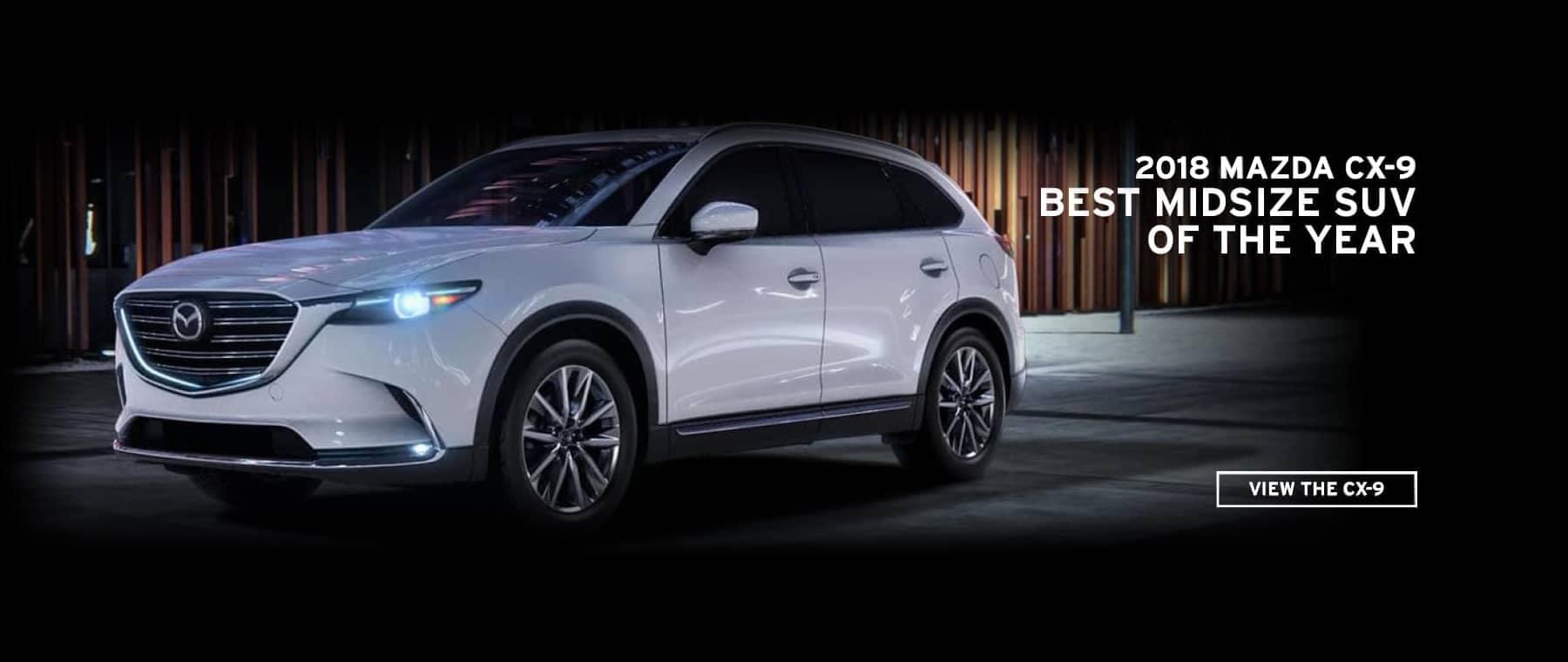 Mazda CX-9 Award