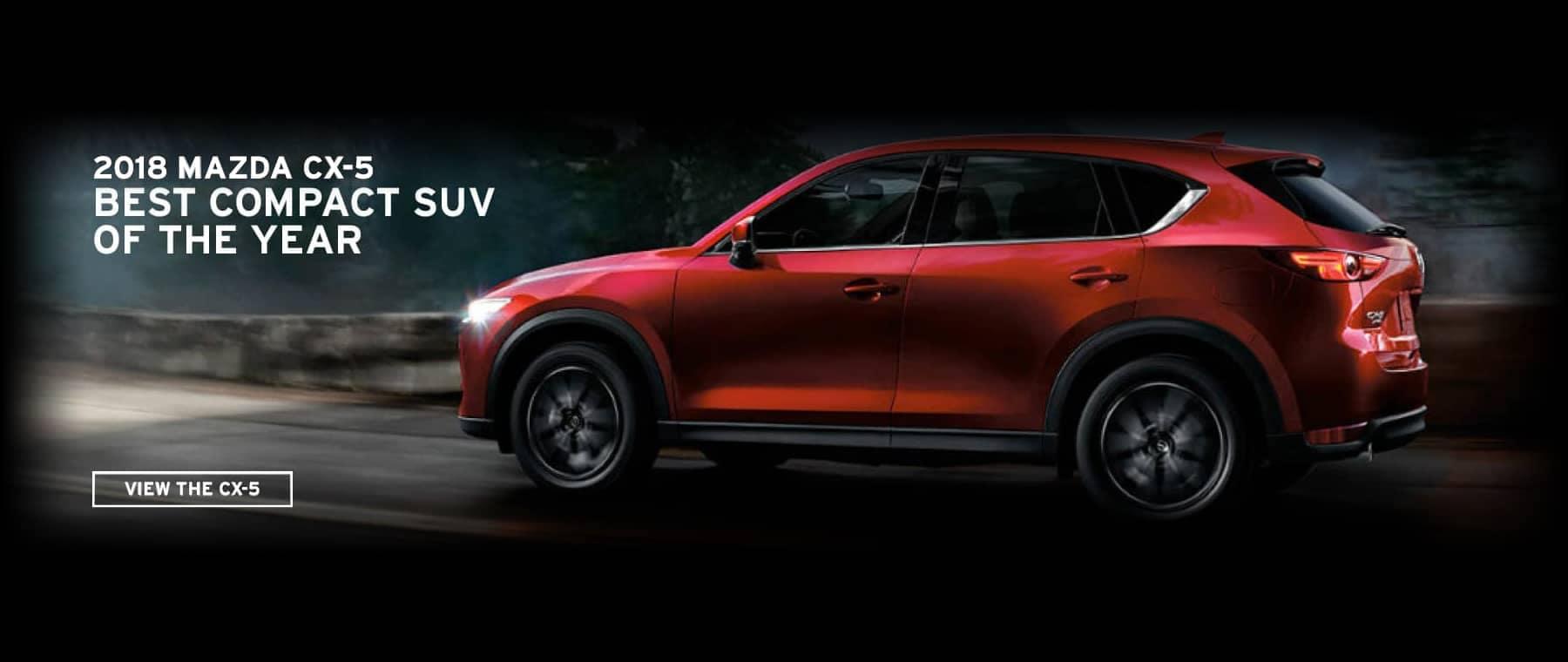 Mazda CX-5 Award