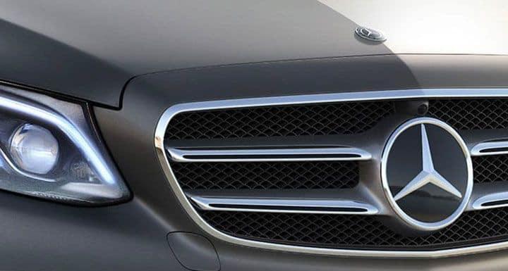 mercedes front logo