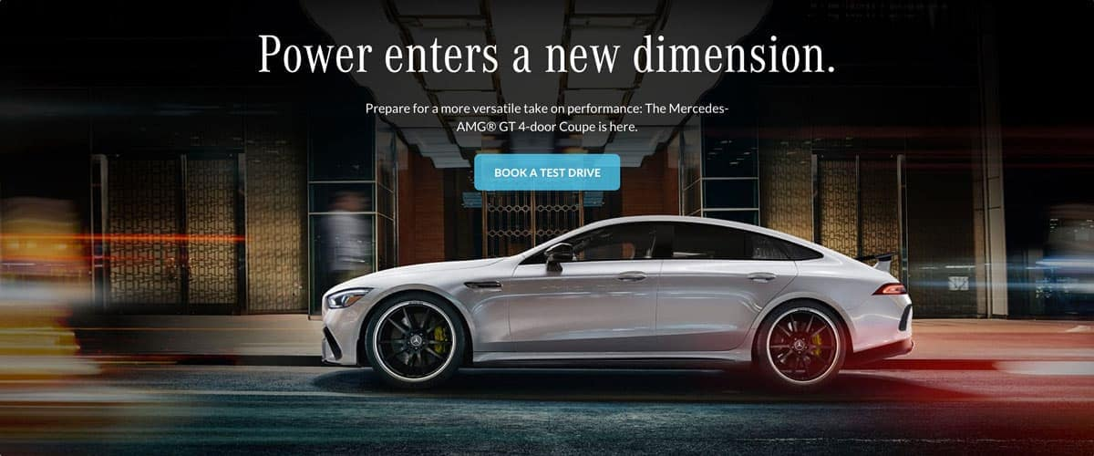 Power enters a new dimension - Mercedes-AMG GT