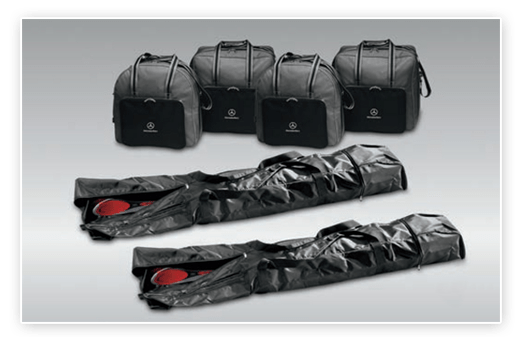 MB leather luggage sets