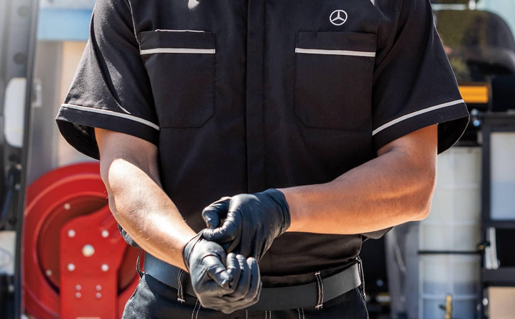 Mercedes-Benz of Foothill Ranch technician