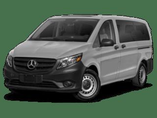 2019 Mercedes-Benz Metris Passenger Van angled