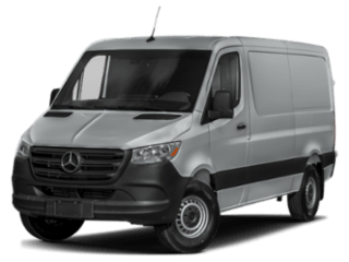2019 Mercedes-Benz Sprinter Cargo Van angled
