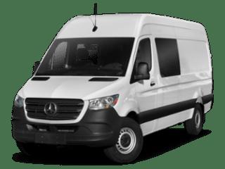 2019 Mercedes-Benz Sprinter Crew Van 2500 High Roof angled