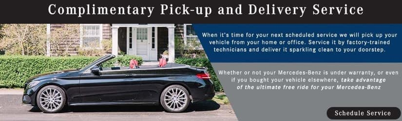 Pick Up Delivery At Your Door Mercedes Benz Of New Rochelle