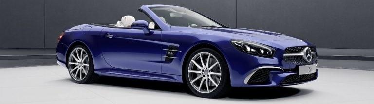 designo Edition for 2018 SL 450 and SL 550