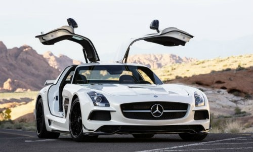 2012 Mercedes-Benz SLS AMG Coupe Black Series