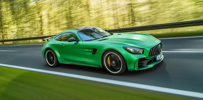 The Mercedes-Benz AMG GT R