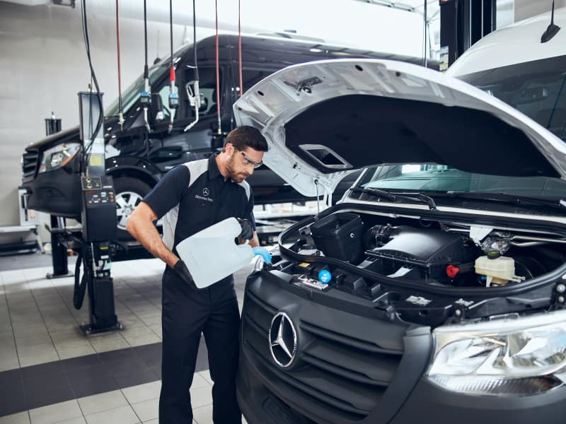 Mercedes-Benz Maintenance in Summerville SC