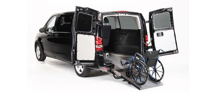Driverge Mercedes-Benz METRIS WAV available from Mercedes-Benz Van Center - Baker