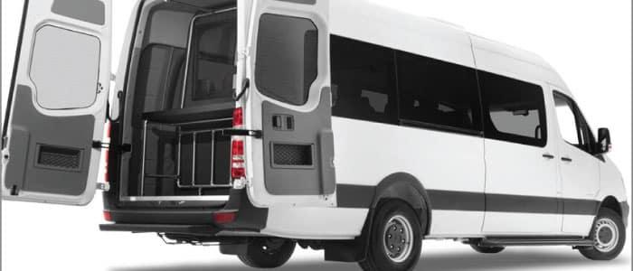 Driverge MERCEDES-BENZ SPRINTER SMARTLINER™ available from Mercedes-Benz Van Center - Baker