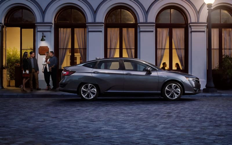 2018 Honda Clarity Plug-In Hybrid Exterior side view