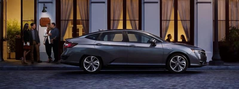 2018 Honda Clarity Plug-In Hybrid front exterior