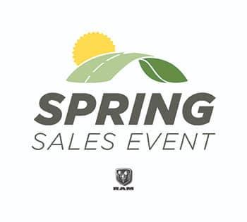 Ram Spring Sales Event
