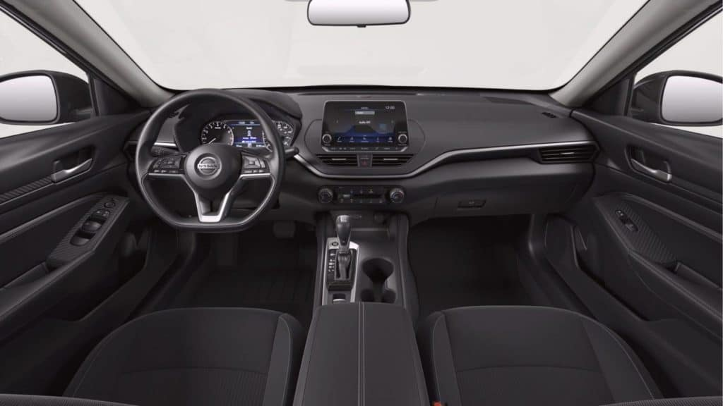 dashboard of 2020 Nissan Altima