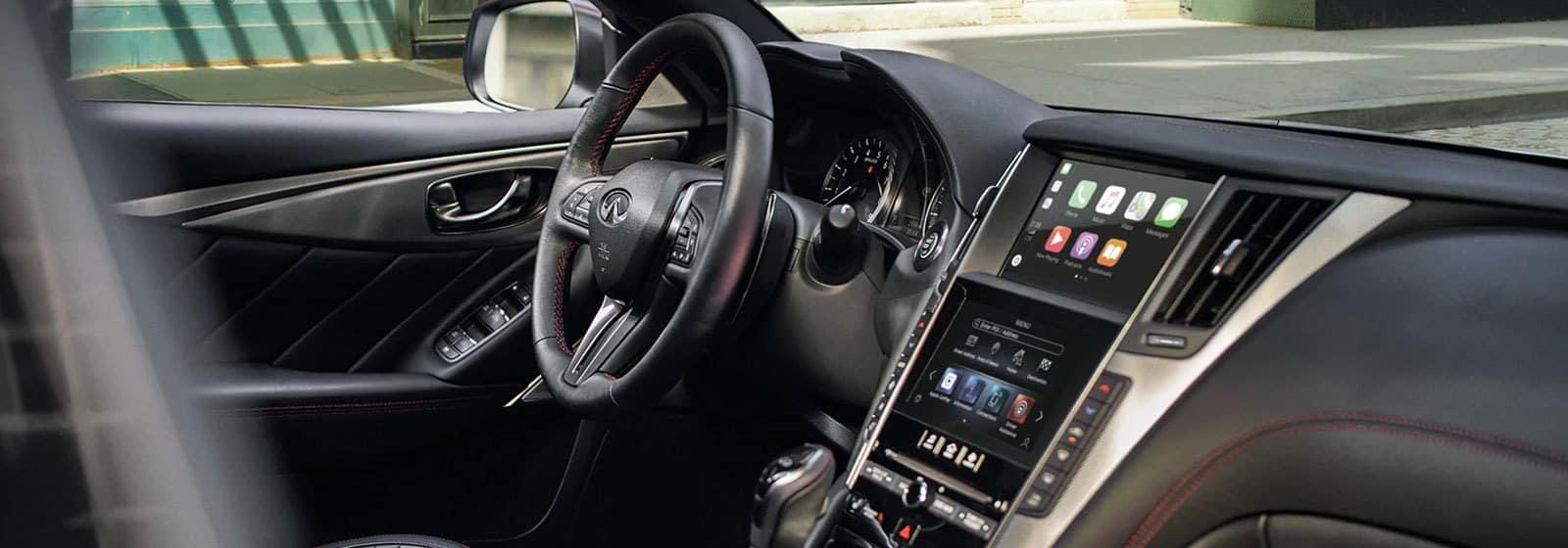 INFINITI vehicle interior