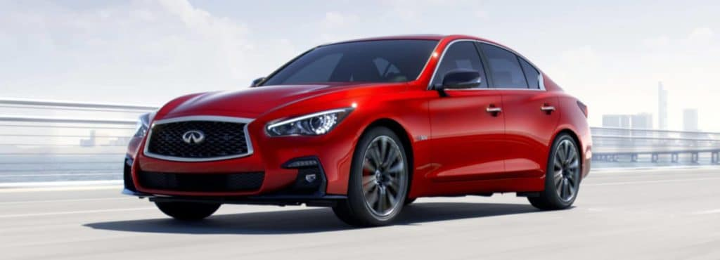 Mike Ward Infiniti >> ENJOY A CPO 2018 INFINITI Q50 RED SPORT 400 FROM MIKE WARD ...