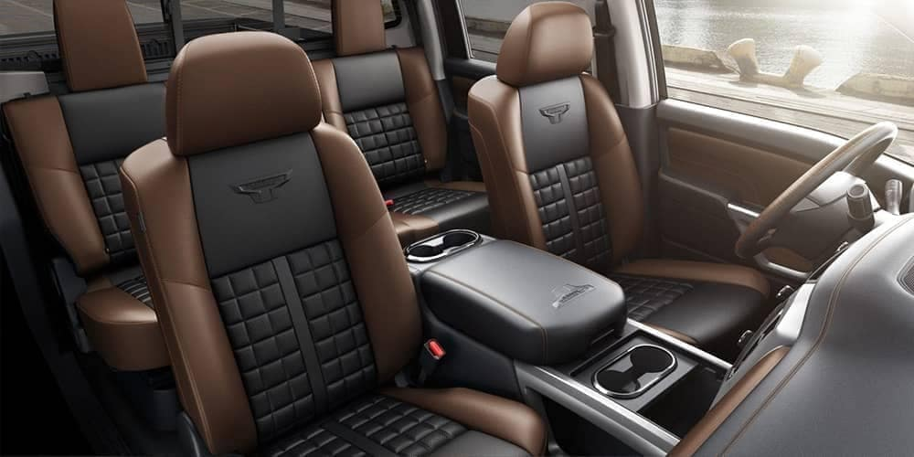 2019 Nissan XD interior seats