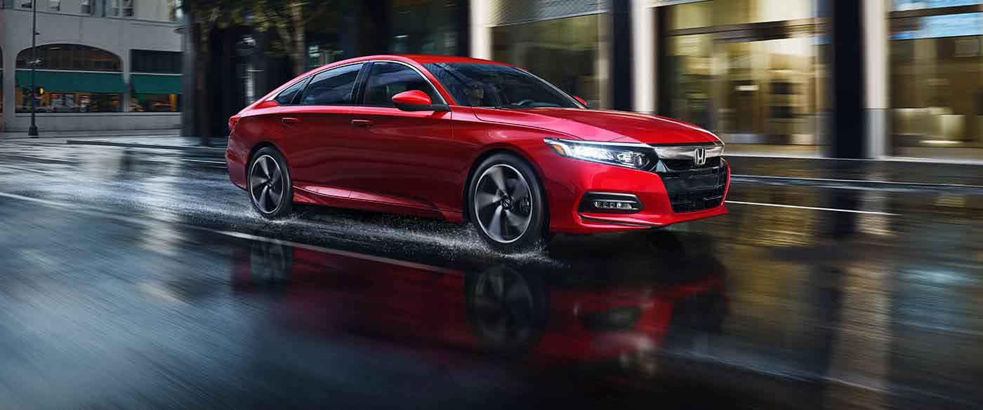 2018 Honda Accord Sedan driving