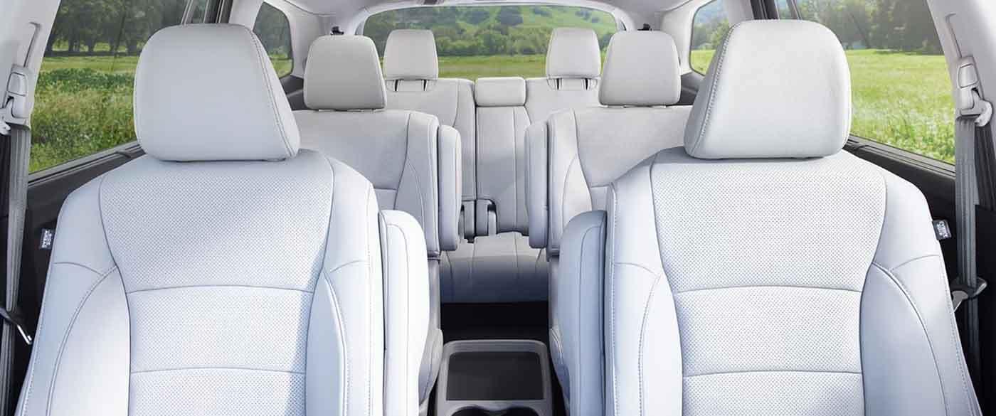 2018 Honda Pilot Interior Seating