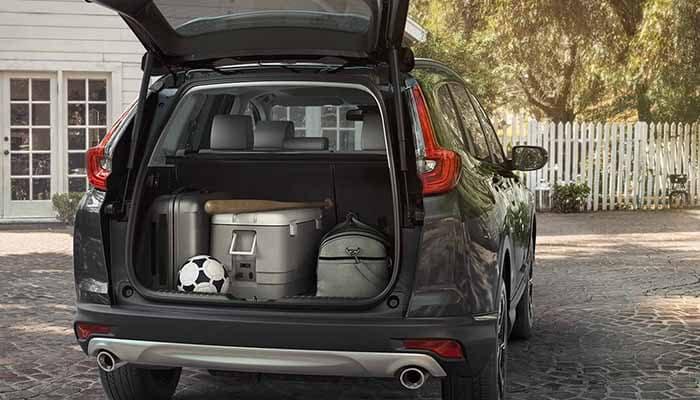 2018 Honda CR-V Cargo Filled Area