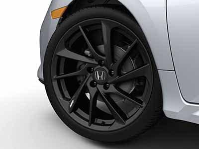 2018 Honda Civic Hatchback Black Wheel Lug Nut Kit