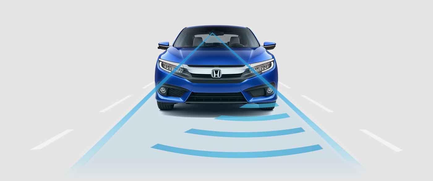 2018 Honda Civic Coupe Adaptive Cruise Control