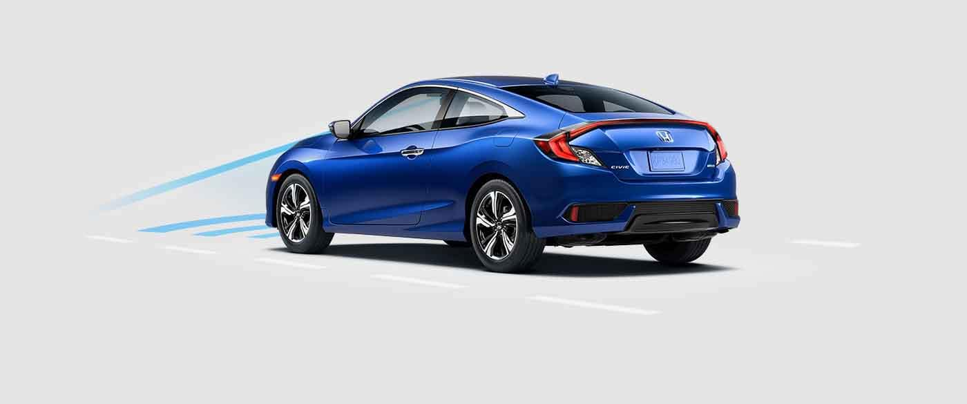 2018 Honda Civic Coupe Collision Mitigation Braking System