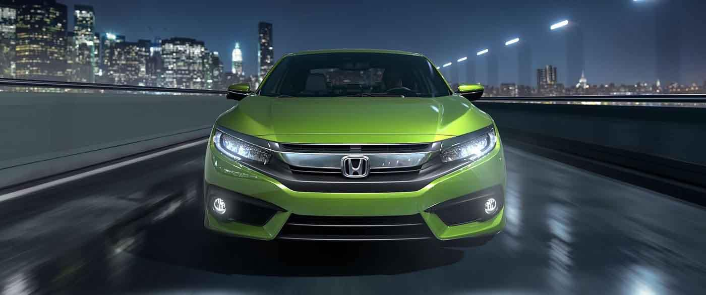2018 Honda Civic Coupe LED Headlights