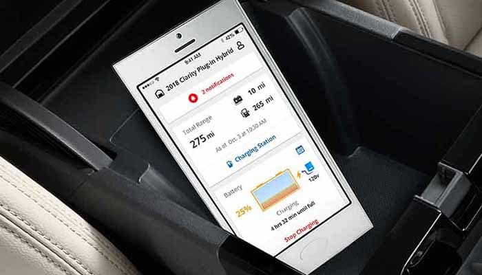 2018 Honda Clarity Plug In Cell Phone Integration