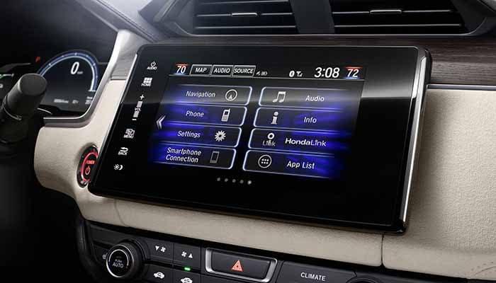 2018 Honda Clarity Plug In Hybrid 8 inch Display Screen