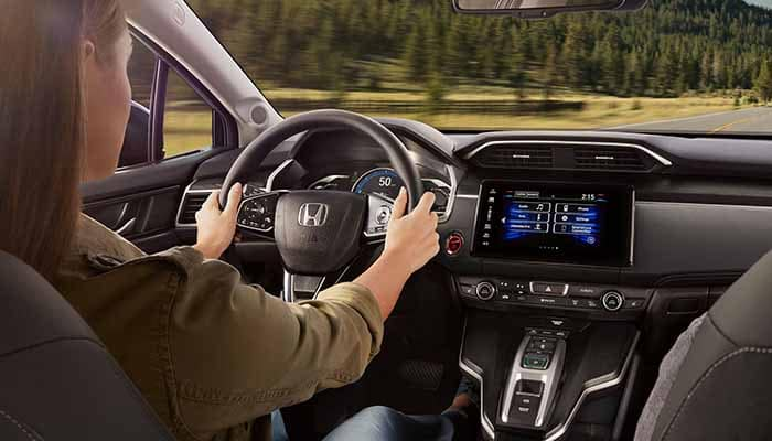 2018 Honda Clarity Plug In Hybrid driving technology