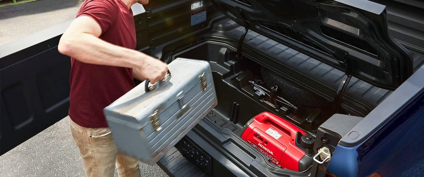2018 Honda Ridgeline Dual Action Tailgate