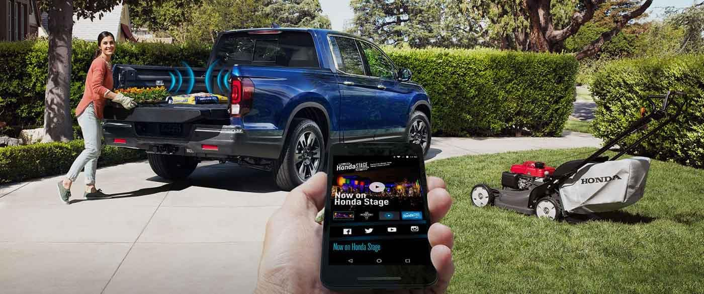 2018 Honda Ridgeline In Bed Audio System