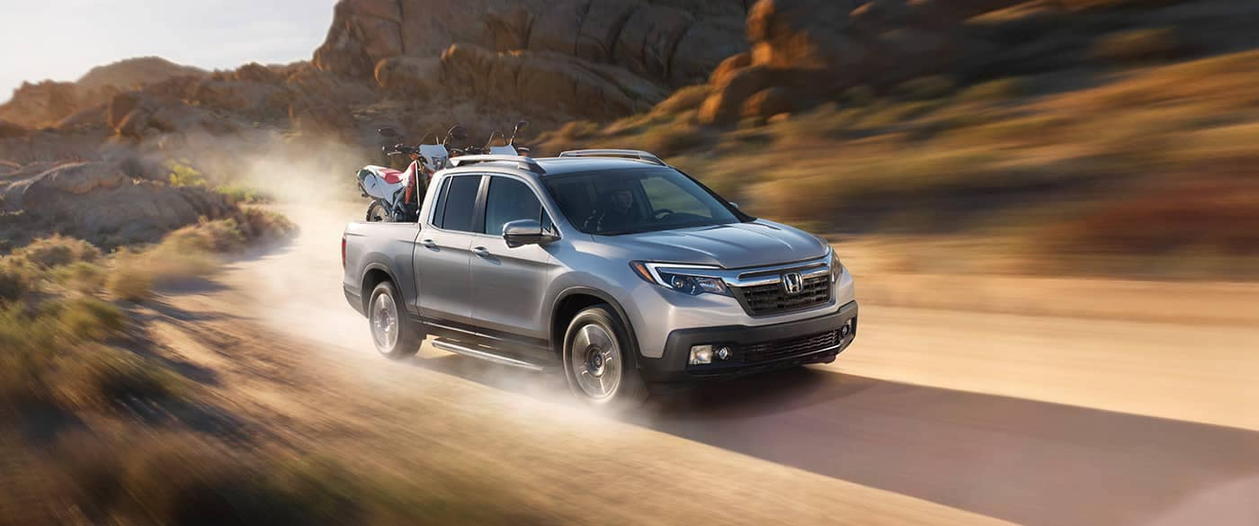 2018 Honda Ridgeline Off-Roading