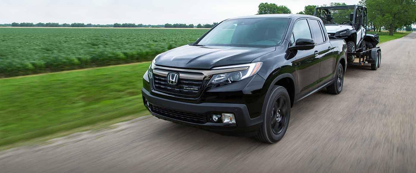 2018 Honda Ridgeline Towing a Trailer