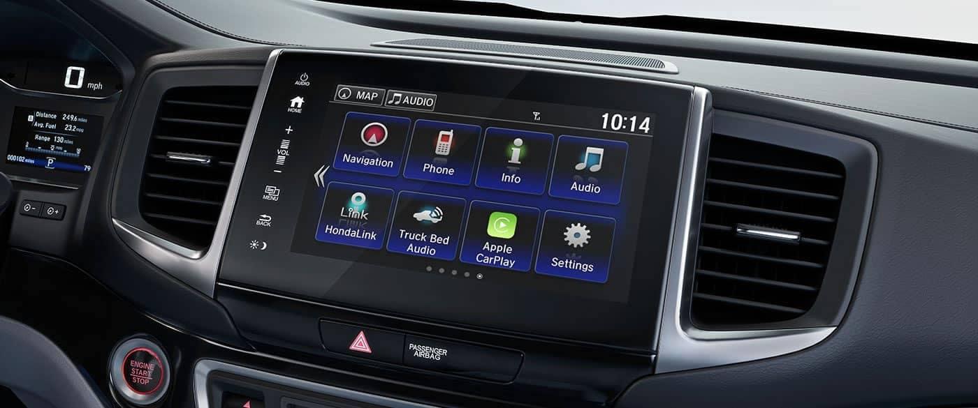 2019 Honda Ridgeline Display Audio Touchscreen