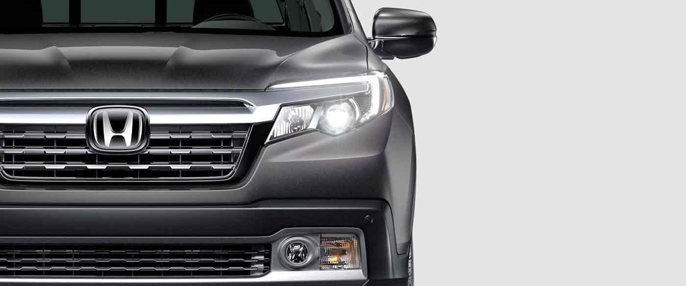 2019 Honda Ridgeline Daytime Running Lights Closeup