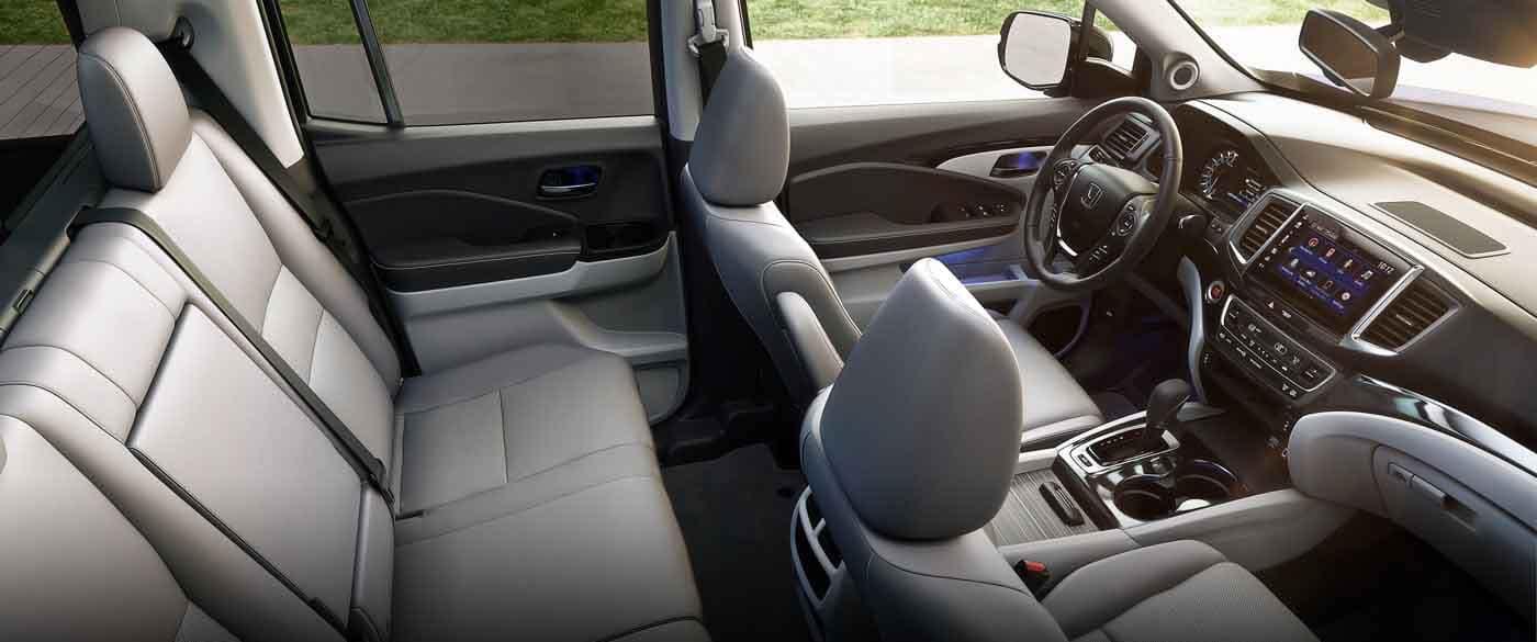 2019 Honda Ridgeline Leather Interior