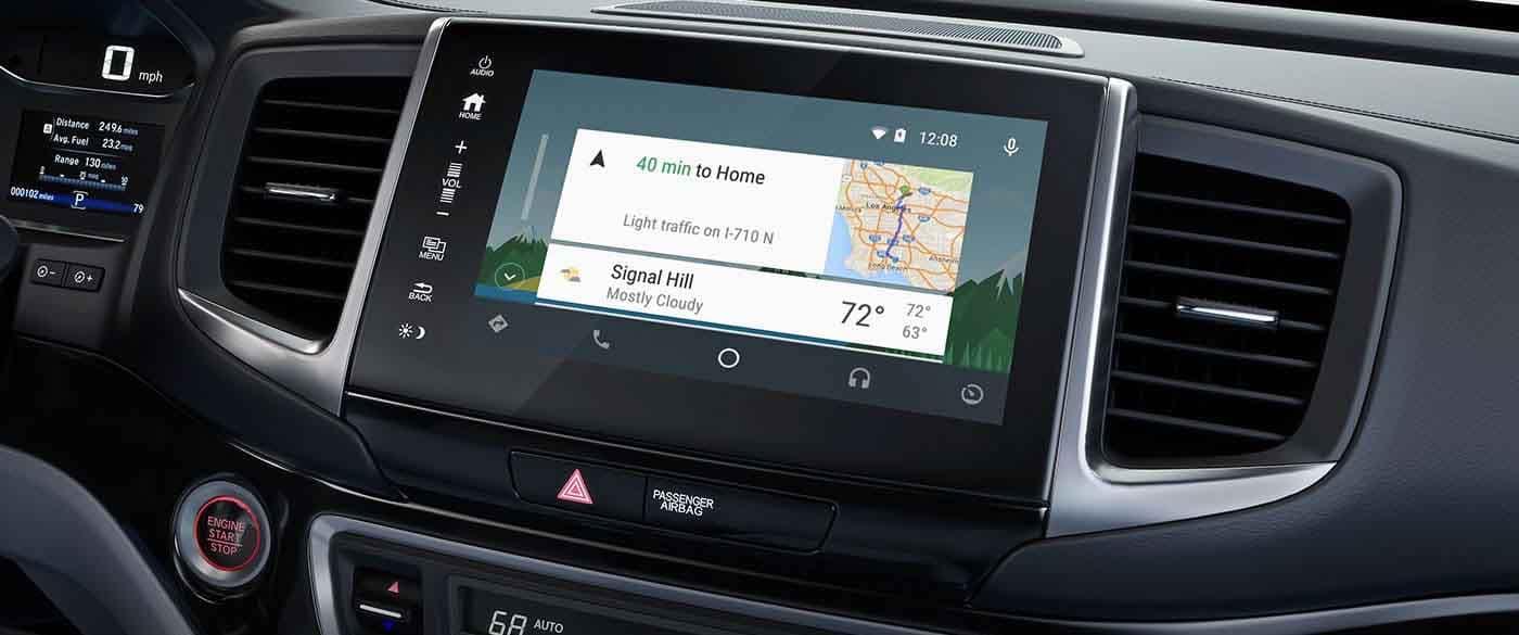 2019 Honda Ridgeline Navigation