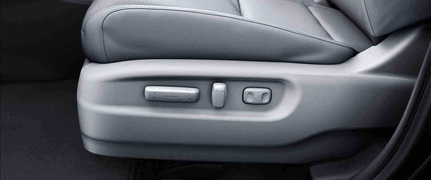 2019 Honda Ridgeline Power Front Seats