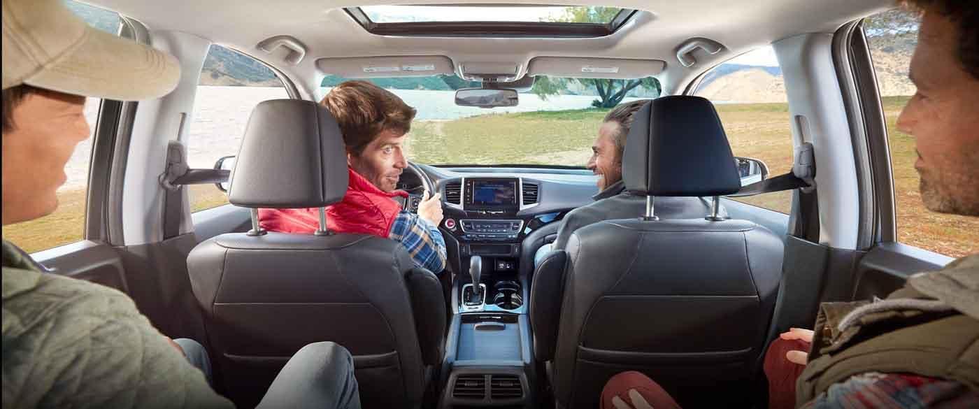 2019 Honda Ridgeline Tri-Zone Climate Control