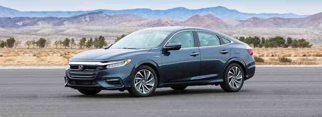 Honda Insight parked