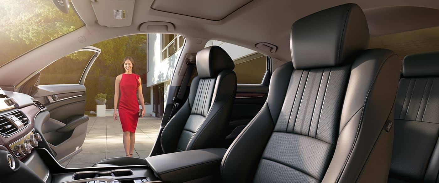 2018 Honda Accord Black Interior