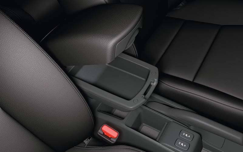 2018 Honda Fit Armrest Compartment Storage