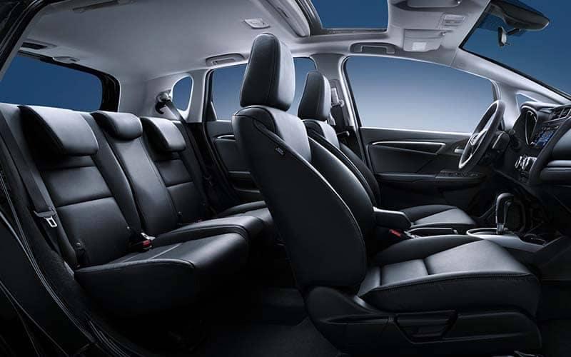 2018 Honda Fit Side View of Full Interior