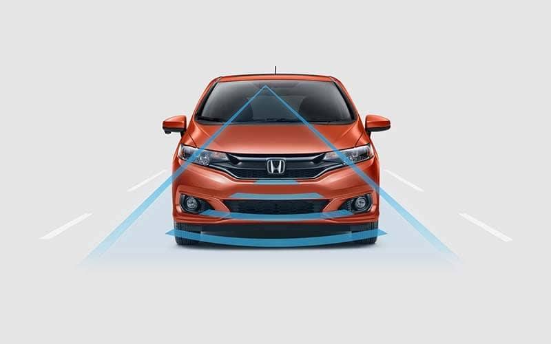 2019 Honda Fit Adaptive Cruise Control Honda Sensing