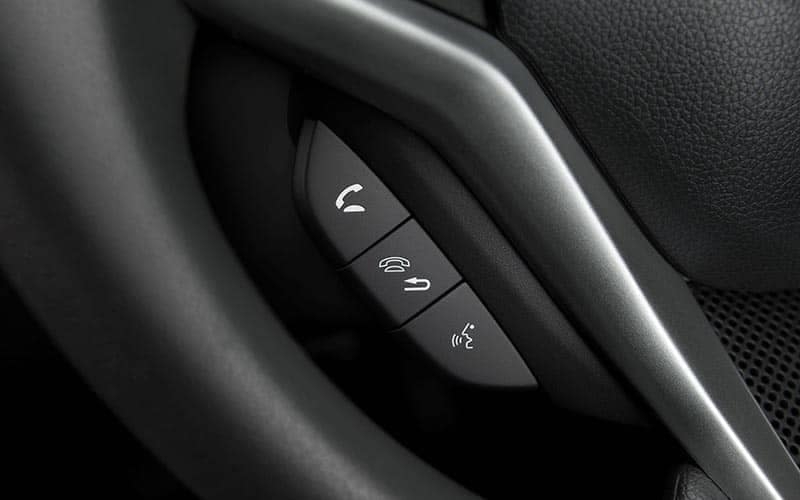 2019 Honda Fit Bluetooth Buttons on Steering Wheel
